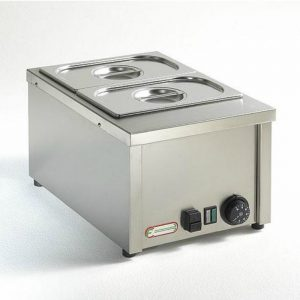 Bain-marie electric, GN 1/2 h15 cm