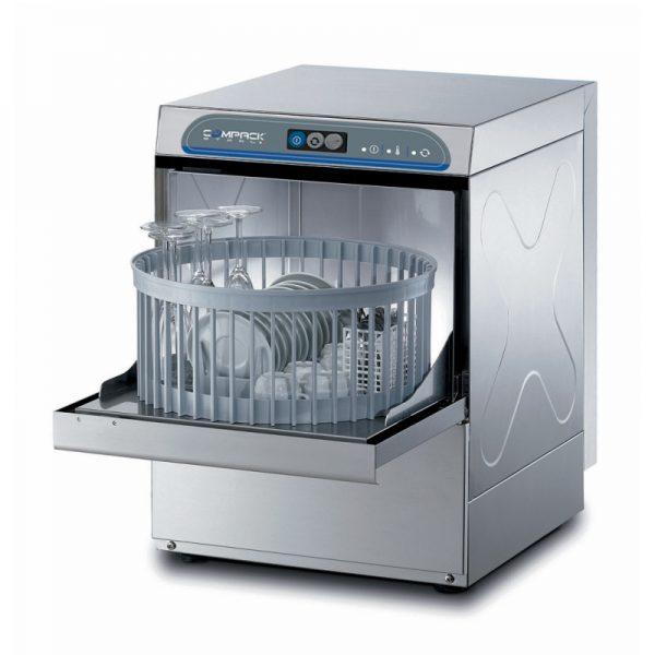 Masina profesionala de spalat pahare/farfurii, cos Ø 40 cm
