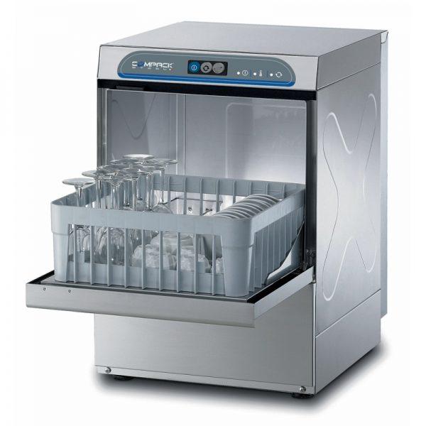 Masina profesionala de spalat pahare/farfurii, inalta, cos 40x40 cm