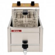 Friteuza profesionala Snack-Bar electrica, cuva 6 litri