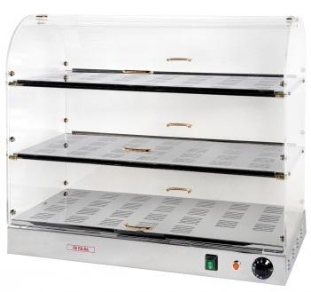 Vitrina calda 3 nivele - serie 50