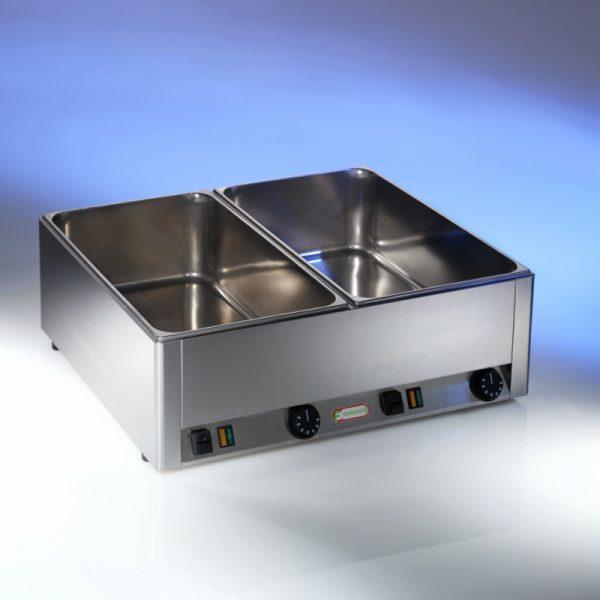 Bain-marie electric, 2 cuve GN 1/1 h15 cm