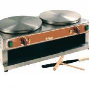 Crepiera electrica dubla, 40cm - Mod. D40
