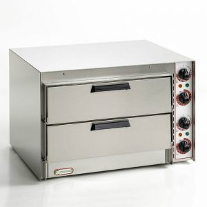 Cuptor electric pizza, doua camere