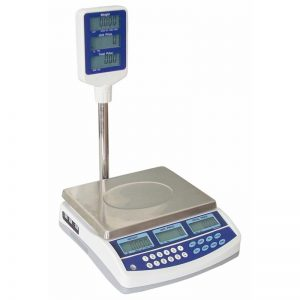 Cantar electronic cu coloana, max. 15/30 kg, 1 operator