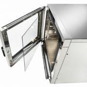 Cuptor electric digital convectie-abur