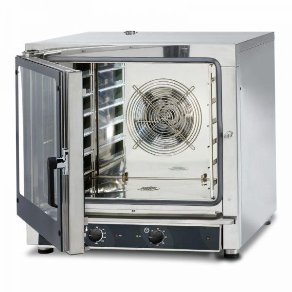 Cuptor electric manual convectie-abur, 6 tavi 60x40 cm